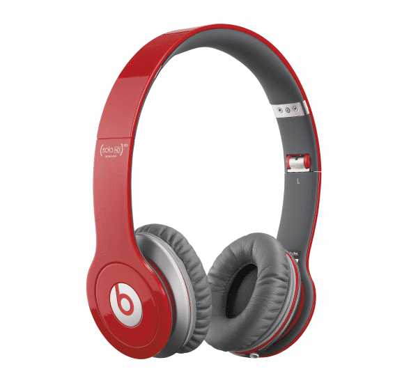 Solo HD Red Headphones