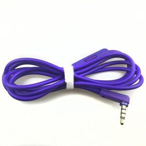 Beats Solo2 Purple Aux Cable