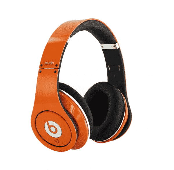 Beats Studio 1 Orange Headphones
