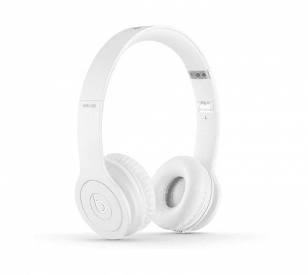 Solo Hd Wired White Headphones