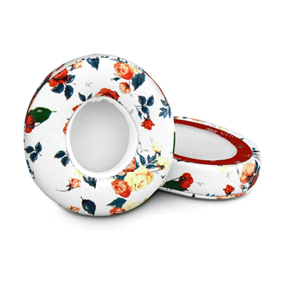 Studio 2 White Floral Ear Pads