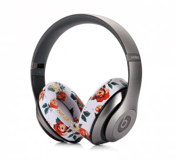 Studio 2 White Floral Headphone