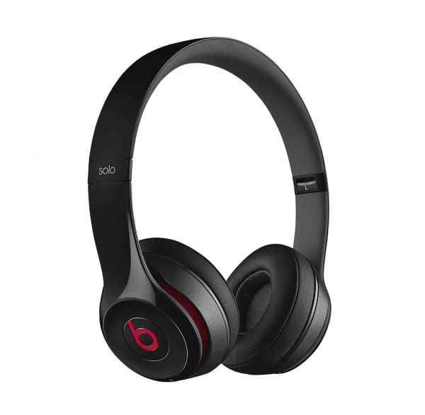 Solo 2 Black Headphones
