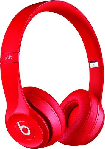 Solo2 Red Headphones