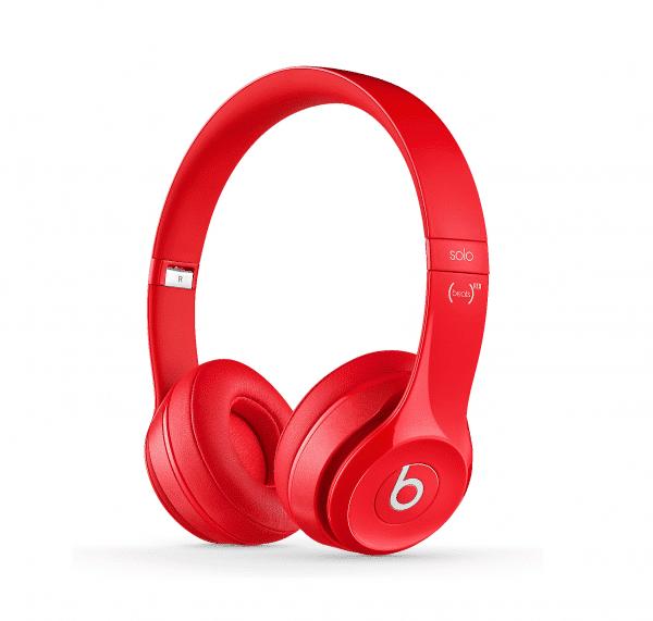 Solo2 Red Headphones