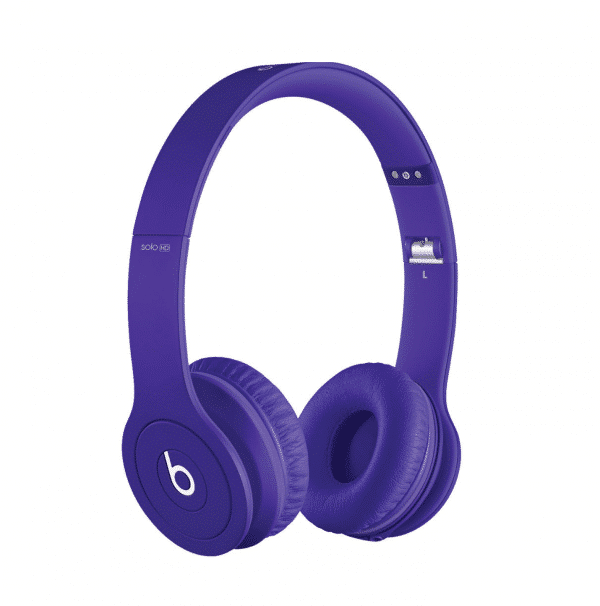 SoloHD Drenched Purple Headphones