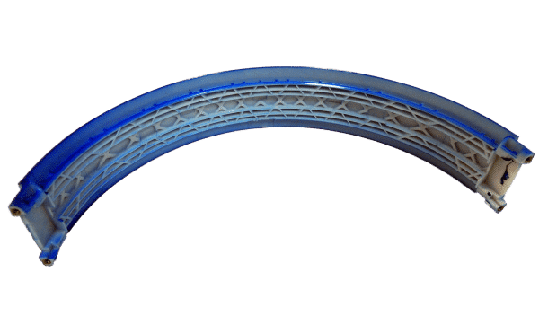 Back of Studio 2 Blue Headband