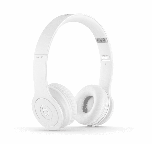 Beats Solo HD White Headphones