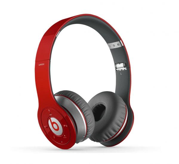 Beats Solo Wireless 1st Gen Red Headphones