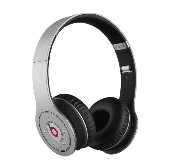 Beats Solo Wireless 1st Gen Silver Headphones