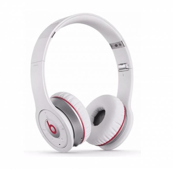 Beats Solo Wireless 1st Gen White Headphones