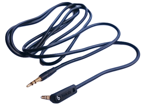 Beats Black Audio Cord Fixabeat