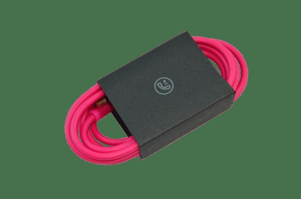 Pink Studio 2 Aux Cable