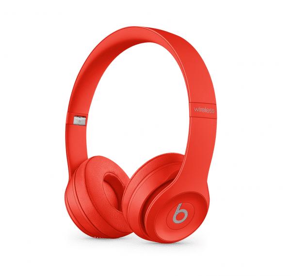 Solo3 Red Headphones