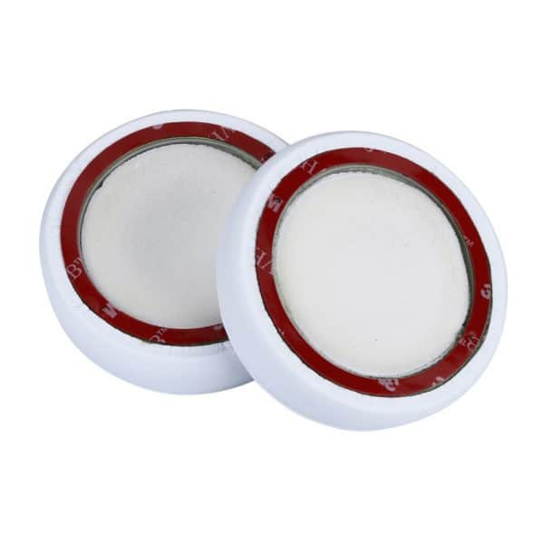 Backside of White Beats EP Ear Pads