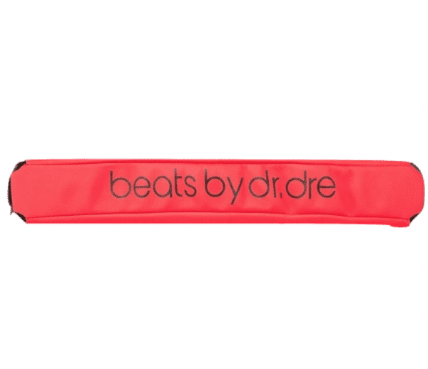 Red Beats Pro Headband Wrap