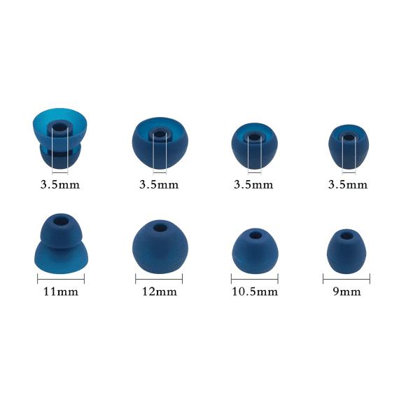 BeatsX Blue Earbud Tips