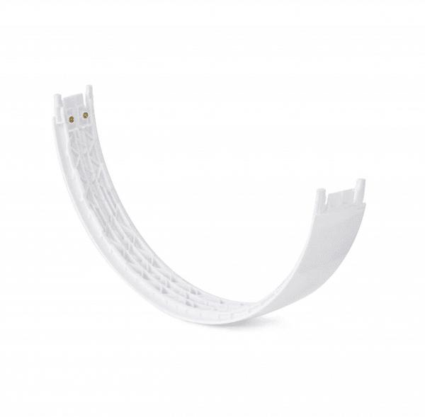 Solo3 White Headphones Headband Underside