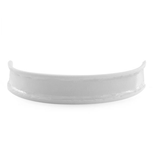 Back of White Solo2 Headband Padding