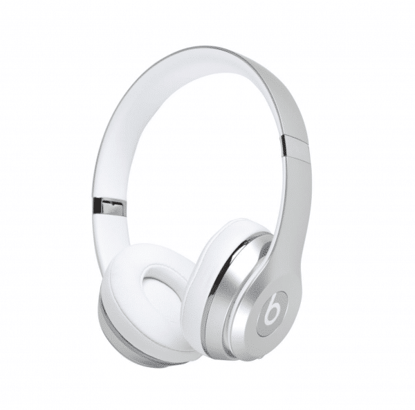 Silver Solo 3 Headphones