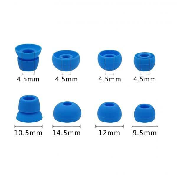 Powerbeats 3 Blue Tips Sizes