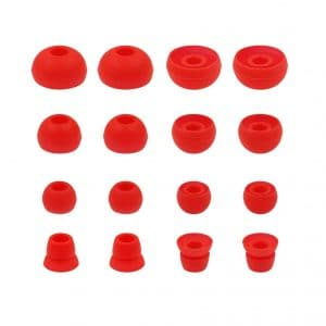 Red Earbud Tips