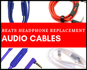 Beats Replacement Parts Audio Cables