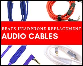 Beats Replacement Parts Audio Cables