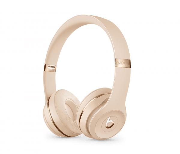 Satin Gold Solo 3 Headphones