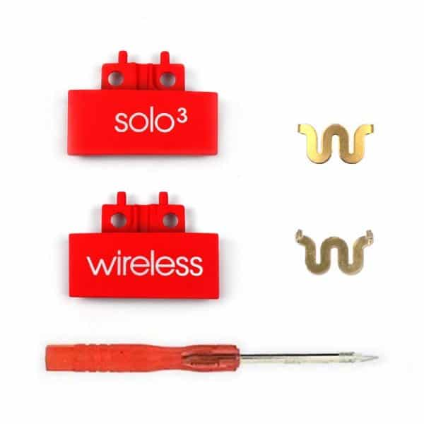 Solo 3 Red Connector Tabs