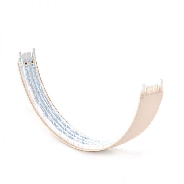 solo3 satin gold headband part