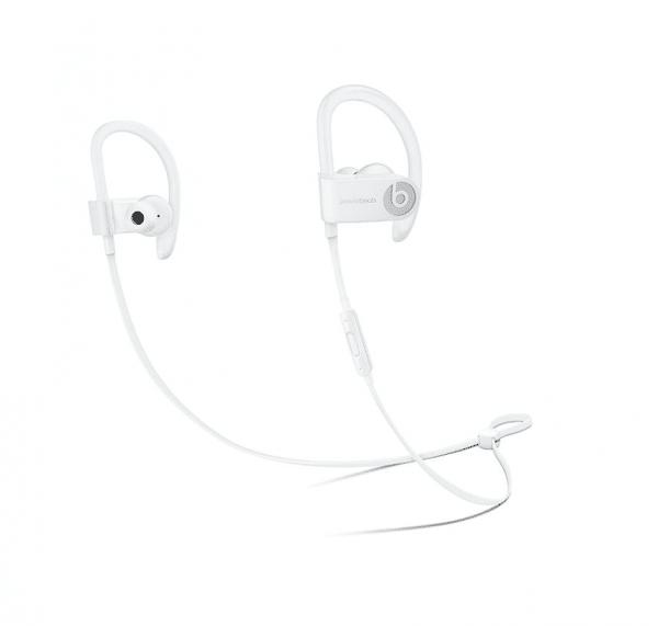 Powerbeats 3 Earphones White Color