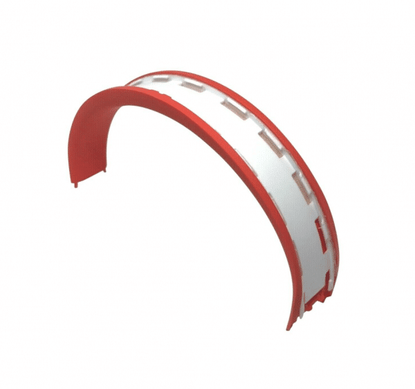Red Headband Padding Solo3
