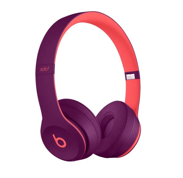 Solo 3 Pop Magenta Headphones