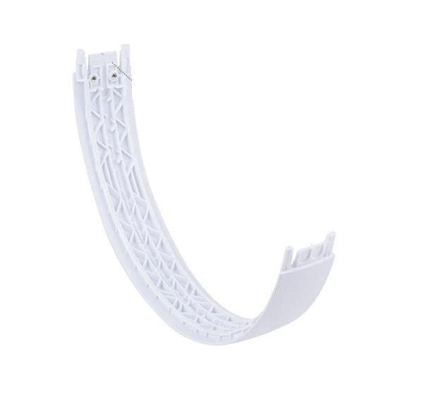 Back of Solo 3 Club White Headband