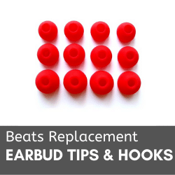 Beats Replacement Earbud Tips and Hooks