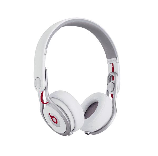 Beats Mixr White Headphones