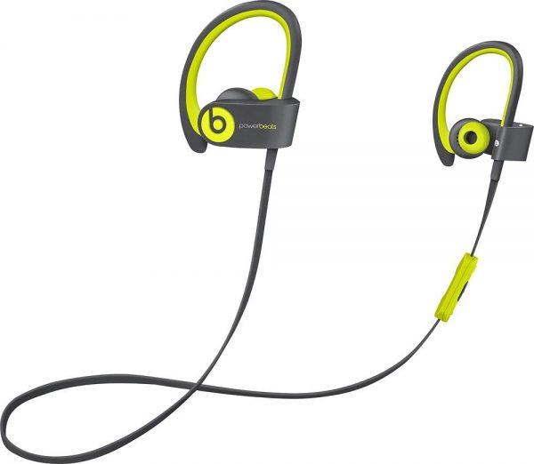 Powerbeats 2 Yellow Earphones