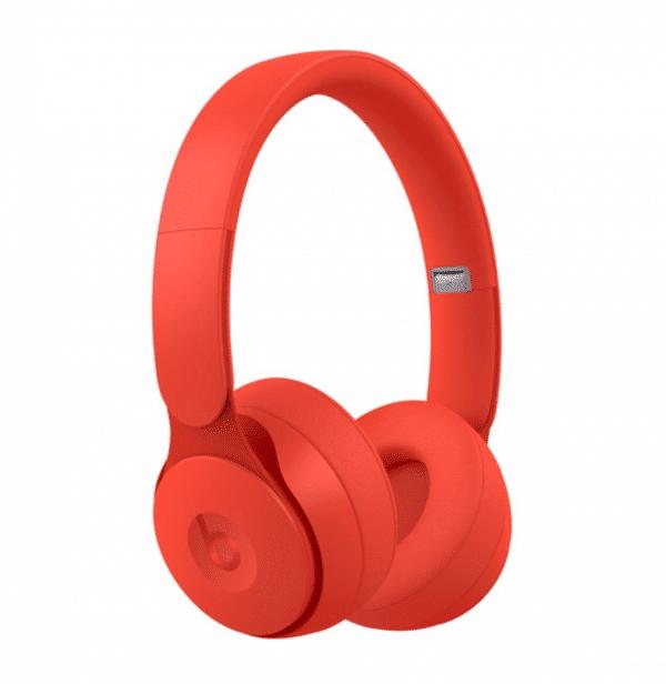Solo Pro Wireless Red Headphones