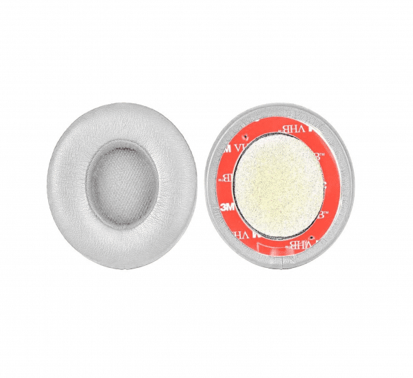 Solo3 Satin Silver Ear Cushions