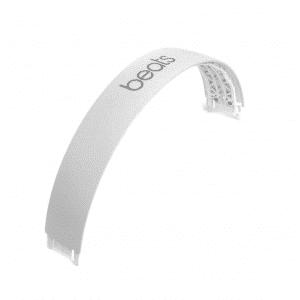 Satin Silver Solo 3 Headband