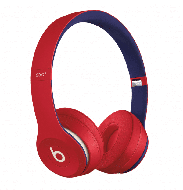 Solo3 Club Red Headphones