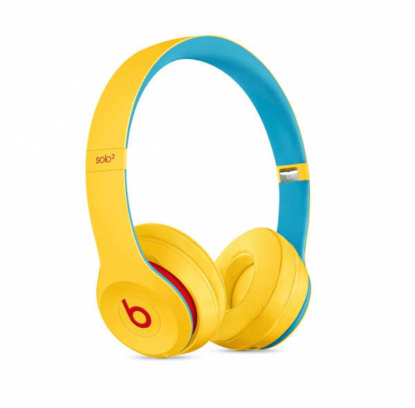 Solo3 Club Yellow Headphones
