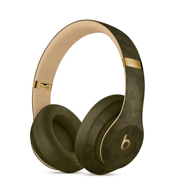 Studio 3 Forest Green Headphones Camo